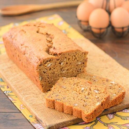 Sweet Potato Quick Bread Recipe | Magnolia Days